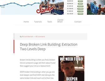 clambr.com screenshot