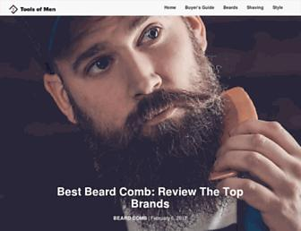toolsofmen.com screenshot