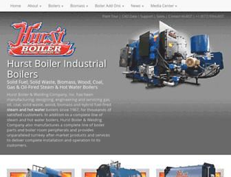 hurstboiler.com screenshot