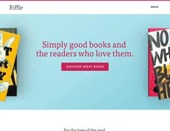 Thumbshot of Rifflebooks.com