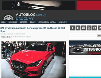 autoblog.com.uy screenshot