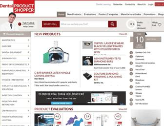 dentalproductshopper.com screenshot