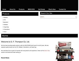 gfthompson.com screenshot