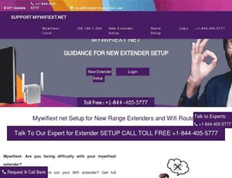 supportmywifiext.net screenshot