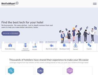 hoteltechreport.com screenshot