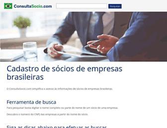 consultasocio.com screenshot