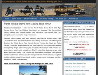 liburanbromomurah.com screenshot
