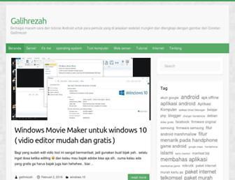 galihrezah.com screenshot