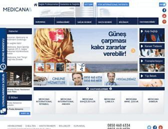 medicana.com.tr screenshot