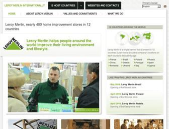 Thumbshot of Leroymerlin.com
