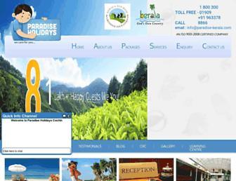Thumbshot of Paradise-kerala.com