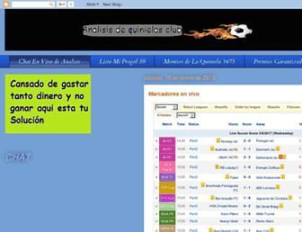analisandoquinielasclub.blogspot.com screenshot