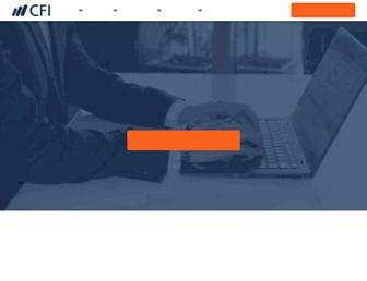 corporatefinanceinstitute.com screenshot