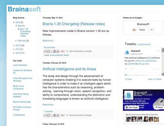 blog.brainasoft.com screenshot