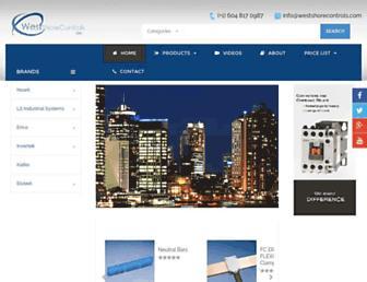westshorecontrols.com screenshot