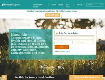 mentalhelp.net screenshot
