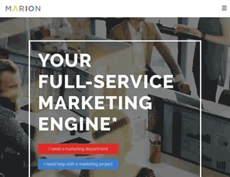 marion.com screenshot