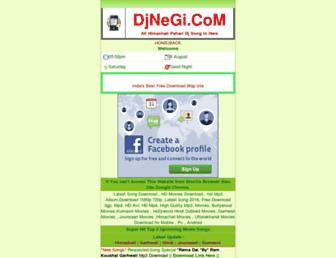djnegi.com screenshot
