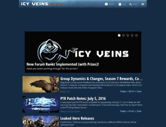 Screenshot for icy-veins.com