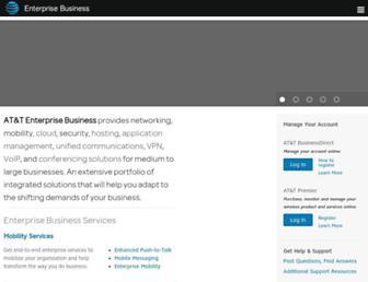business.att.com screenshot