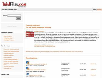 trialfiles.com screenshot