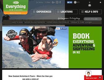 everythingnewzealand.com screenshot