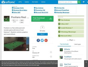 poolians-real-pool-3d.en.softonic.com screenshot