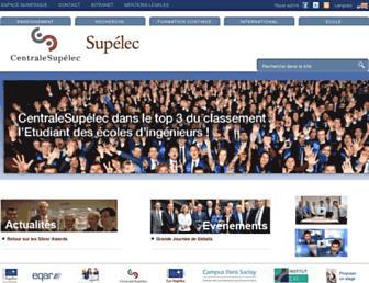 rennes.supelec.fr screenshot