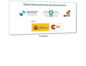 espaciodelconocimiento.org screenshot