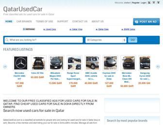 Thumbshot of Qatarusedcar.com