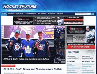 Thumbshot of Hockeysfuture.com