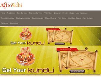 astrovidhi.com screenshot
