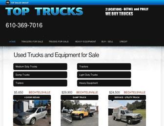 toptrucks.net screenshot