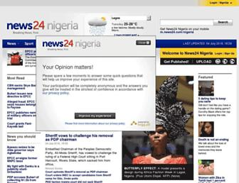 Thumbshot of News24.com.ng