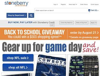 stoneberry.com screenshot