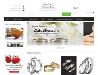 zlatasilver.com screenshot