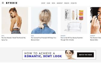 byrdie.com screenshot
