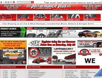 performanceplustire.com screenshot
