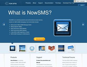 Thumbshot of Nowsms.com