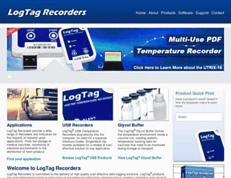 logtagrecorders.com screenshot