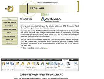 cadtowin.com screenshot
