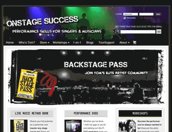 onstagesuccess.com screenshot