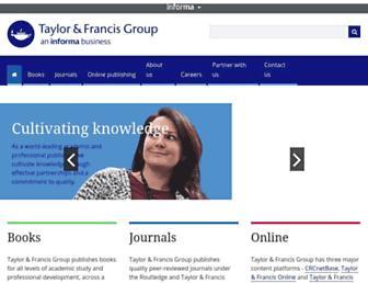 Thumbshot of Taylorandfrancis.com