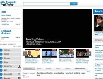 tanzaniatoday.co.tz screenshot