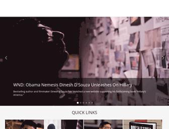 Thumbshot of Dineshdsouza.com