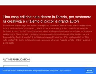 Main page screenshot of librati.it