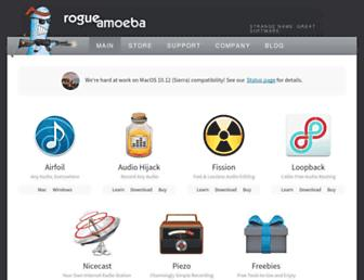 Thumbshot of Rogueamoeba.com
