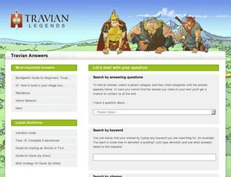 answers.travian.com screenshot