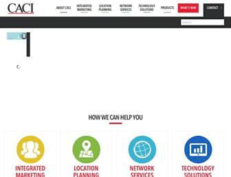 caci.co.uk screenshot