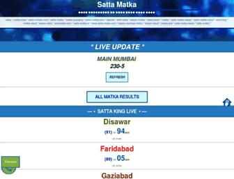 matka.ind.in screenshot
